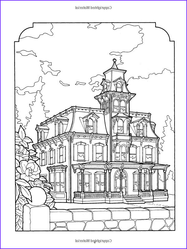 Victorian House Coloring Page Beautiful Photography Victorian Coloring Pages to Print