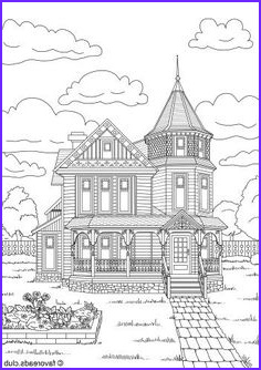 Victorian House Coloring Page Cool Photos Victorian Homes Coloring Pages for Adults