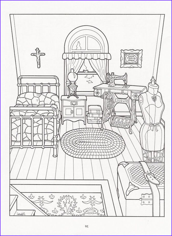 Victorian House Coloring Page Elegant Photography the Victorian House Coloring Book