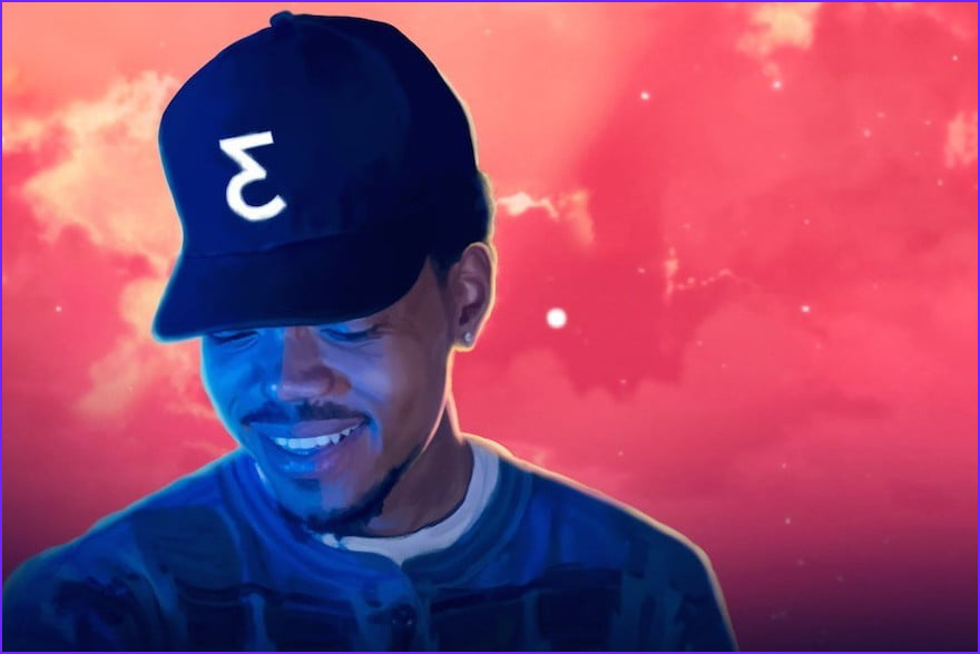 chance the rapper coloring book kanye west