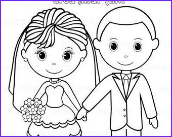 Wedding Coloring Book Template Unique Image Printable Personalized Wedding Coloring Activity by