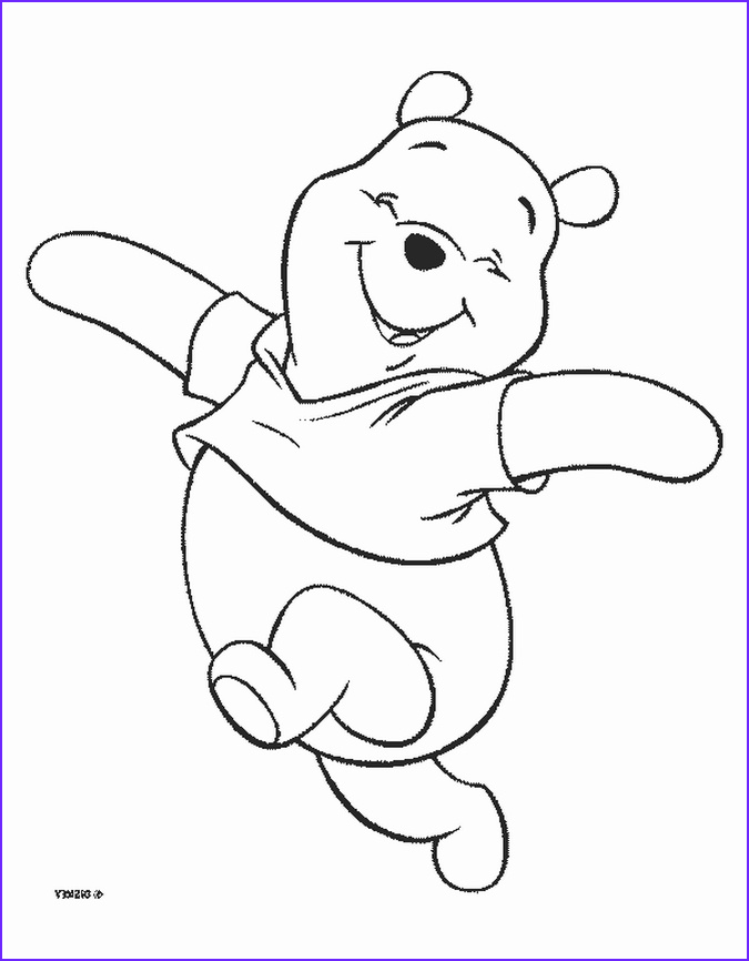 winnie pooh bear coloring pages