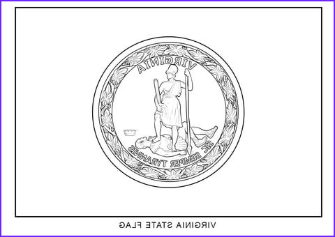 West Virginia Coloring Page New Photos Virginia State Flag Coloring Page