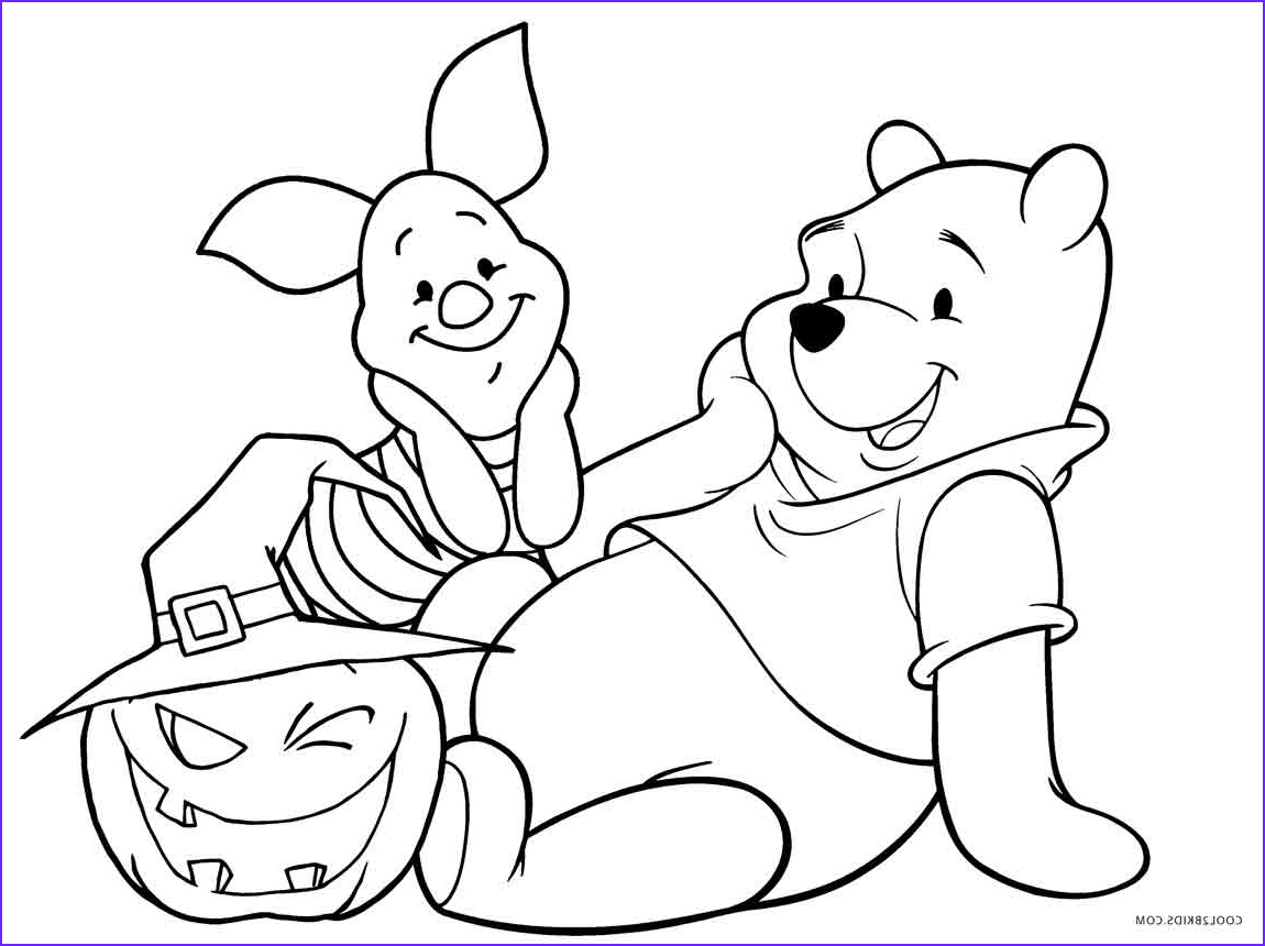 Winnie the Pooh Coloring Page Elegant Photos Halloween Pooh Tigger Coloring Page Coloring Pages