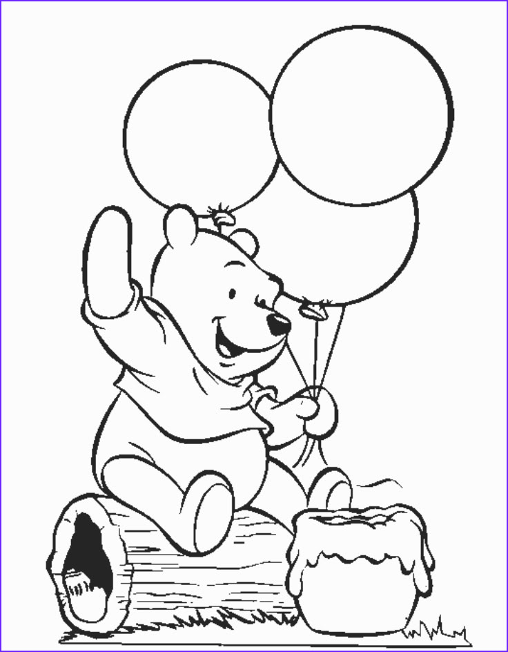 Winnie the Pooh Coloring Page Inspirational Image Free Printable Winnie the Pooh Coloring Pages for Kids